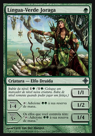 Língua-Verde Joraga / Joraga Treespeaker-Magic: The Gathering-MoxLand