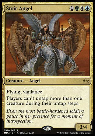 Anjo Estoico / Stoic Angel-Magic: The Gathering-MoxLand