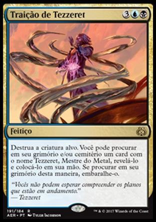 Traição de Tezzeret / Tezzeret's Betrayal-Magic: The Gathering-MoxLand