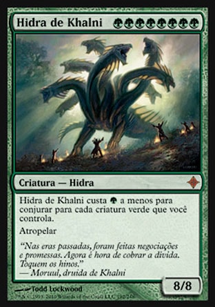 Hidra de Khalni / Khalni Hydra-Magic: The Gathering-MoxLand