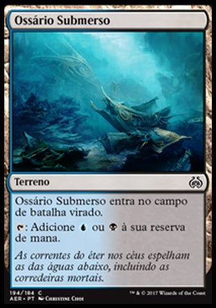 Ossário Submerso / Submerged Boneyard-Magic: The Gathering-MoxLand