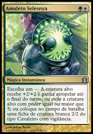 Amuleto Selesnya / Selesnya Charm-Magic: The Gathering-MoxLand