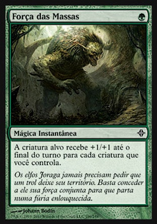 Força das Massas / Might of the Masses-Magic: The Gathering-MoxLand