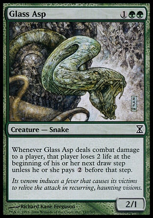 Áspide de Vidro / Glass Asp-Magic: The Gathering-MoxLand