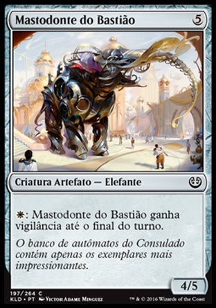 Mastodonte do Bastião / Bastion Mastodon-Magic: The Gathering-MoxLand