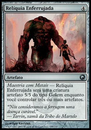 Relíquia Enferrujada / Rusted Relic-Magic: The Gathering-MoxLand