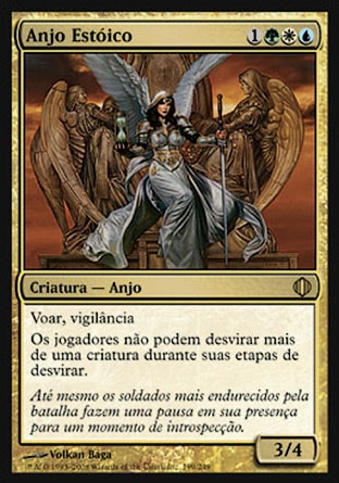Anjo Estóico / Stoic Angel-Magic: The Gathering-MoxLand