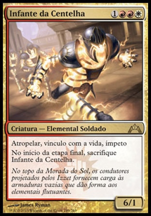 Infante da Centelha / Spark Trooper-Magic: The Gathering-MoxLand