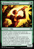 Mensageira Silvestre / Sylvan Messenger-Magic: The Gathering-MoxLand