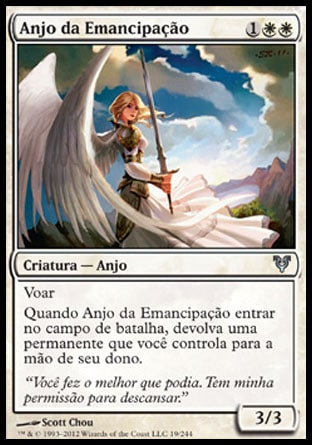 Anjo da Emancipação / Emancipation Angel-Magic: The Gathering-MoxLand