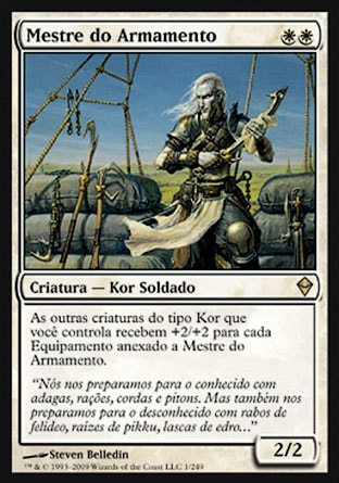 Mestre do Armamento / Armament Master-Magic: The Gathering-MoxLand