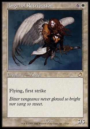Anjo da Retribuição / Angel of Retribution-Magic: The Gathering-MoxLand