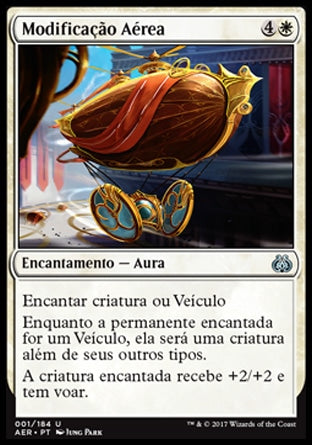 Modificação Aérea / Aerial Modification-Magic: The Gathering-MoxLand
