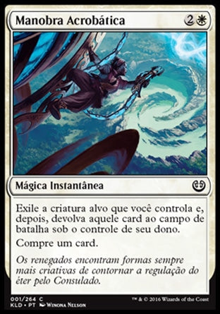 Manobra Acrobática / Acrobatic Maneuver-Magic: The Gathering-MoxLand