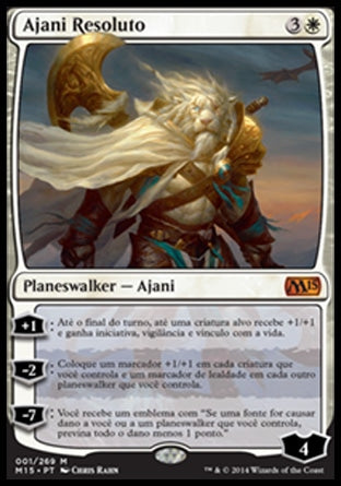 Ajani Resoluto / Ajani Steadfast-Magic: The Gathering-MoxLand