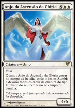 Anjo da Ascensão da Glória / Angel of Glory's Rise-Magic: The Gathering-MoxLand