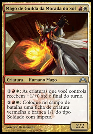 Mago de Guilda da Morada do Sol / Sunhome Guildmage-Magic: The Gathering-MoxLand