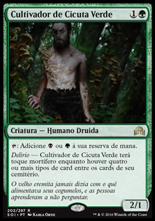Cultivador de Cicuta Verde / Deathcap Cultivator-Magic: The Gathering-MoxLand