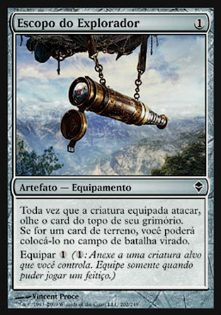 Escopo do Explorador / Explorer's Scope-Magic: The Gathering-MoxLand
