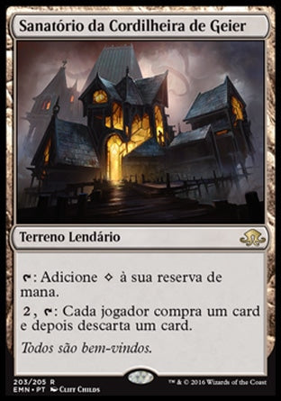 Sanatório da Cordilheira de Geier / Geier Reach Sanitarium-Magic: The Gathering-MoxLand