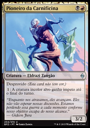 Pioneiro da Carnificina / Forerunner of Slaughter-Magic: The Gathering-MoxLand