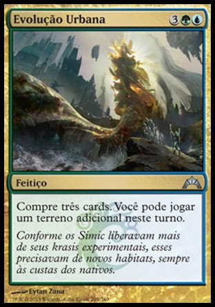 Evolução Urbana / Urban Evolution-Magic: The Gathering-MoxLand