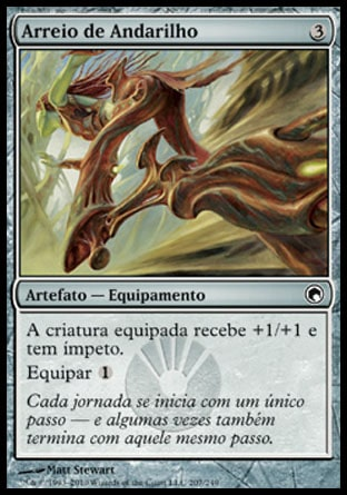 Arreio de Andarilho / Strider Harness-Magic: The Gathering-MoxLand
