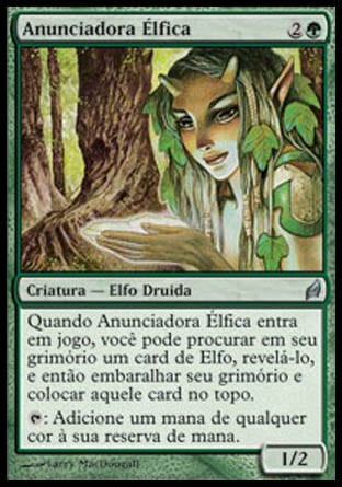 Anunciadora Élfica / Elvish Harbinger-Magic: The Gathering-MoxLand