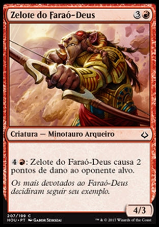 Zelote do Faraó-Deus / Zealot of the God-Pharaoh-Magic: The Gathering-MoxLand