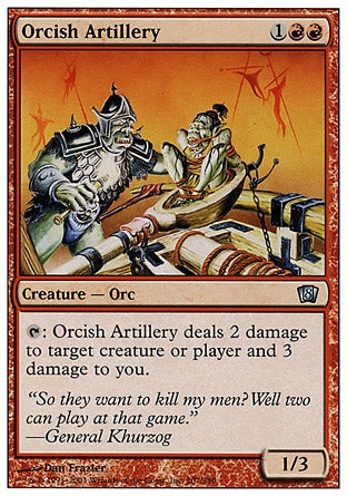 Artilharia Órquica / Orcish Artillery-Magic: The Gathering-MoxLand