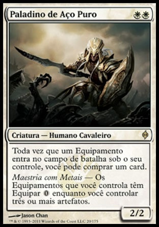 Paladino de Aço Puro / Puresteel Paladin-Magic: The Gathering-MoxLand