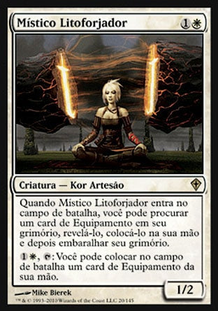 Místico Litoforjador / Stoneforge Mystic-Magic: The Gathering-MoxLand