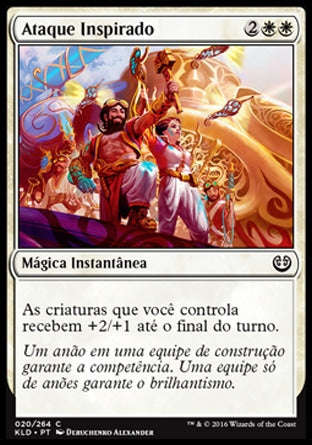 Ataque Inspirado / Inspired Charge-Magic: The Gathering-MoxLand