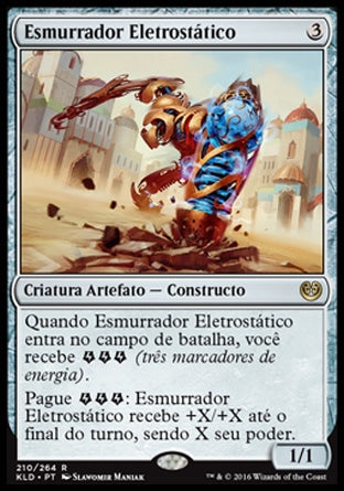 Esmurrador Eletrostático / Electrostatic Pummeler-Magic: The Gathering-MoxLand