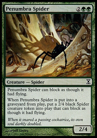 Aranha da Penumbra / Penumbra Spider-Magic: The Gathering-MoxLand
