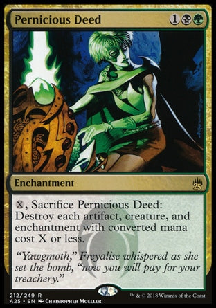 Ato Pernicioso / Pernicious Deed-Magic: The Gathering-MoxLand