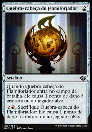 Quebra-cabeça do Flamiforjador / Fireforger's Puzzleknot-Magic: The Gathering-MoxLand