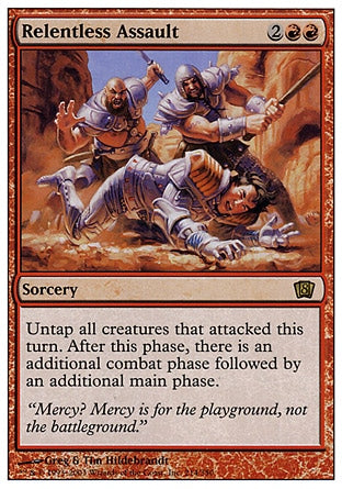 Assalto Implacável / Relentless Assault-Magic: The Gathering-MoxLand