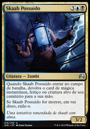 Skaab Possuído / Possessed Skaab-Magic: The Gathering-MoxLand