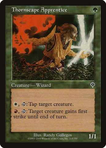 Aprendiz de Thornscape / Thornscape Apprentice-Magic: The Gathering-MoxLand