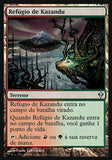 Refúgio de Kazandu / Kazandu Refuge-Magic: The Gathering-MoxLand