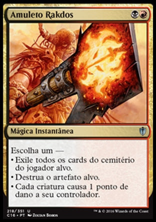 Amuleto Rakdos / Rakdos Charm-Magic: The Gathering-MoxLand
