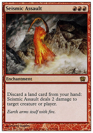 Assalto Sísmico / Seismic Assault-Magic: The Gathering-MoxLand