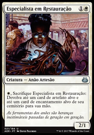 Especialista em Restauração / Restoration Specialist-Magic: The Gathering-MoxLand
