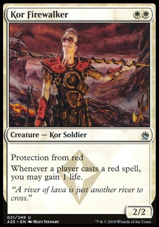 Andarilho do Fogo Kor / Kor Firewalker-Magic: The Gathering-MoxLand