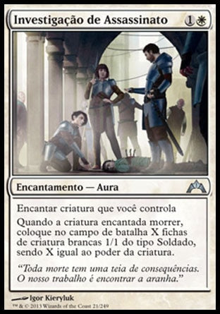Investigação de Assassinato / Murder Investigation-Magic: The Gathering-MoxLand
