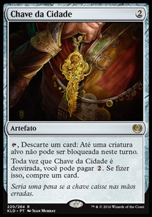 Chave da Cidade / Key to the City-Magic: The Gathering-MoxLand
