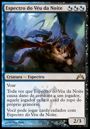 Espectro do Véu da Noite / Nightveil Specter-Magic: The Gathering-MoxLand