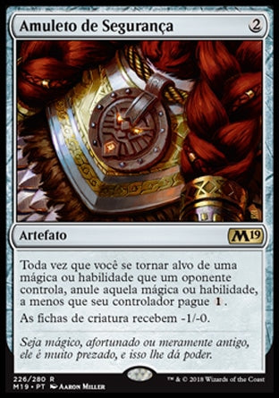Amuleto de Segurança / Amulet of Safekeeping-Magic: The Gathering-MoxLand