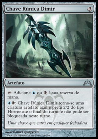 Chave Rúnica Dimir / Dimir Keyrune-Magic: The Gathering-MoxLand
